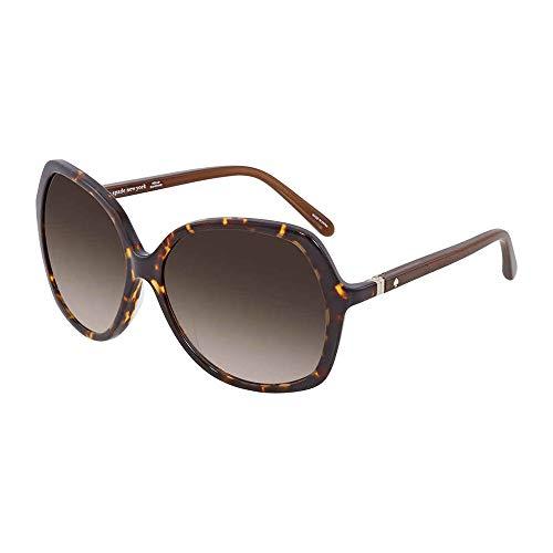 - Kate Spade Women's Jonell Square Sunglasses, Havana Warm Brown Gradient, 58 mm
