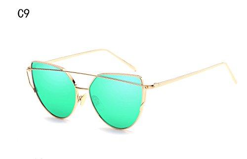 XIESIQING Sunglasses Women brand Gradient Ocean Lens Cat Eye ... d841cfb800