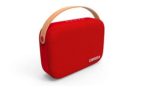 Corseca Bluetooth Speaker Cookie  Red