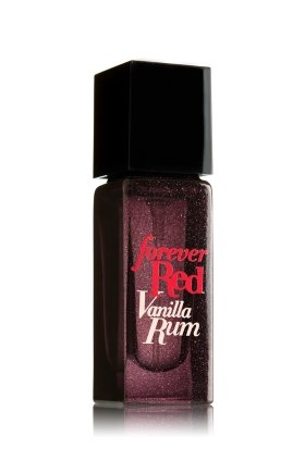 Bath and Body Works Forever Red Vanilla Rum Eau De Parfum .25 Ounce Travel Spray