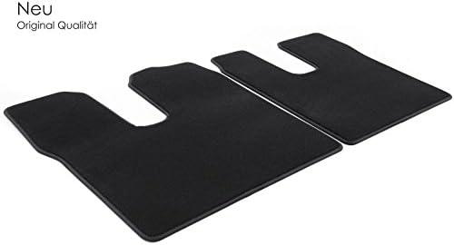 Kh Teile Fußmatten Velours Automatten Original Qualität Stoffmatten 2 Teilig Schwarz Fahrer Beifahrer Auto