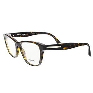 Prada PR04TV Eyeglass Frames 2AU1O1-52 - Havana