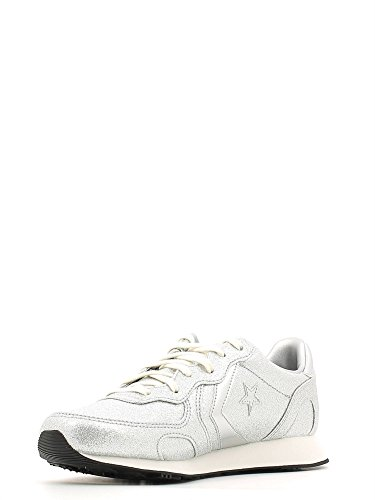 Converse Auckland Racer Ox Glitter - Zapatillas Mujer Silver