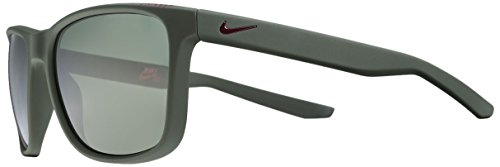 Nike EV0921-300 Unrest Sunglasses (Frame Green with Gunmetal Flash Lens), Matte Cargo Khaki/Night - Unrest Sunglasses