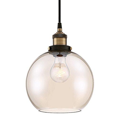 Black And Brass Pendant Light - 5