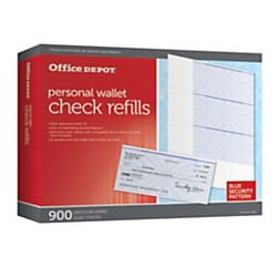 Office Depot Personal Check Refill Pack, 3-Part, Pack Of 300, 9294