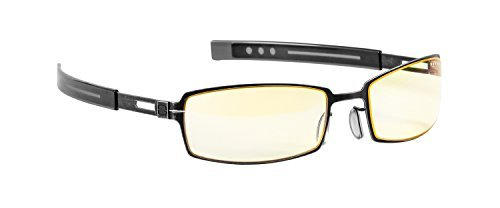 Gunnar Optiks PPK-07201 PPK Dark Steel Frame with Amber Lens - Not Machine Specific by Gunnar - Gunnar Frame