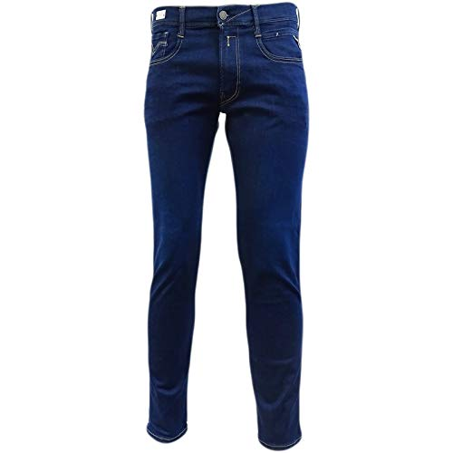 Replay Blue Hyperflex Slim Fit Jean/Denim Pants - M914Y-000-661-319-007 36/30