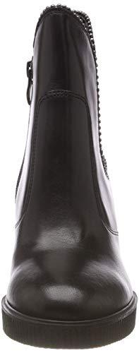 Chelsea black Noir Tamaris 25329 1 Bottes 21 Femme aTnRqCn