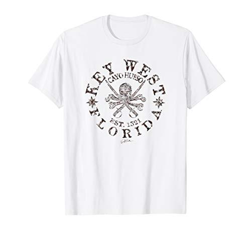 JCombs: Key West, FL, Pirate Jolly Roger T-Shirt