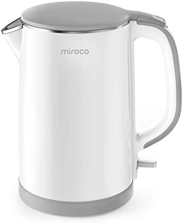 Electric Kettle, Miroco Double Wall 100%