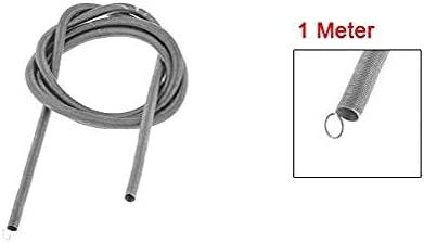 Gray 1 Meter One Loop End Long Metal Tension Spring Tension Spring