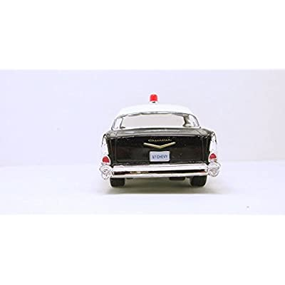 Kinsmart 1957 LAPD Police Chevy Bel Air 1/40 Scale Diecast Squad Car by Kinsmart: Toys & Games