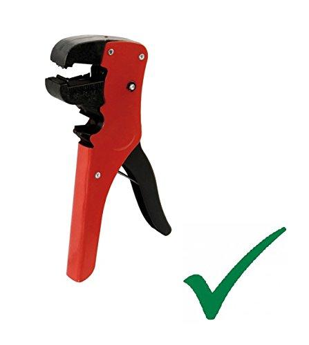PRAKTISCHE UNIVERSALE ABISOLIERZANGE automatisch Kabelschneider Kabelzange 0,2-6mm² / 0,2-2 mm automatic cable cutter