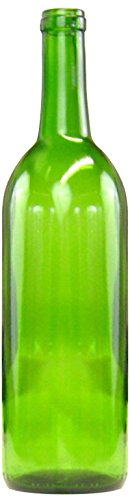 Home Brew Ohio B01EI2NK1Q  6 gallon Bottle Set: green Claret/Bordeaux (36 Bottles) Green Wine Bottle