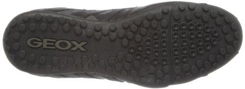 Geox Uomo Snake - Zapatillas Hombre Schwarz (BLACKC9999)
