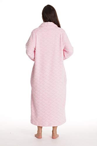 Just Love Plush Zipper Lounger Robe for Women
