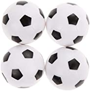 4Pcs 36Mm Plastic Soccer Table Football Balls Game Replacement Ball Dependable Performance Durability and conv
