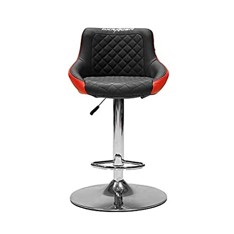 DX Racer PU Leather Video Gamer Chair (Black and Orange