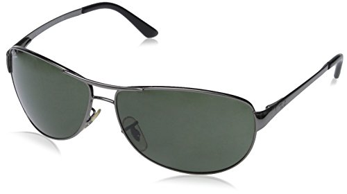 96d71eddc7 Ray Ban RB3342 Warrior Sunglasses-004/58 Gunmetal (Green Polarized  Lens)-60mm (B001OQWL7O) | Amazon price tracker / tracking, Amazon price  history charts, ...