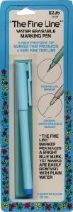 e Water-erasable Marking Pen-blue ()