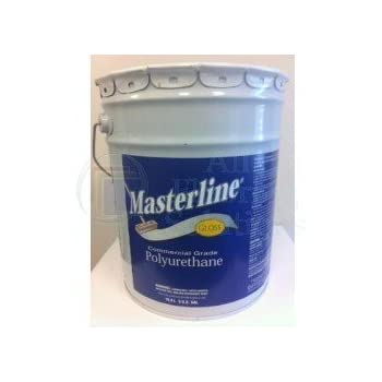 Masterline Polyurathane Gloss 5 Gallon Amazon Com