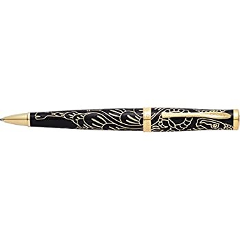 AT0312-19 Black Lacquer Ballpoint Pen Cross Special Edition Year of the Goat