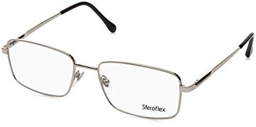 Sferoflex SF2271 Eyeglass Frames 103-53 - Palladium