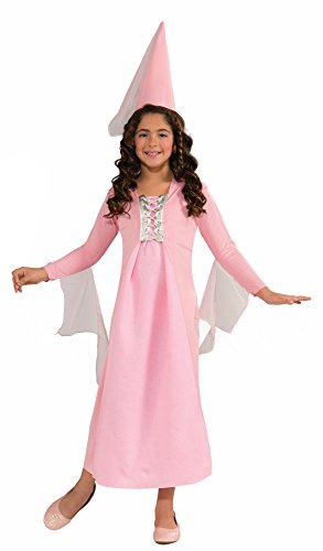 Forum Novelties Pretty Pink Princess Costume, Child Large (Fairy Tale Outfits For Adults)