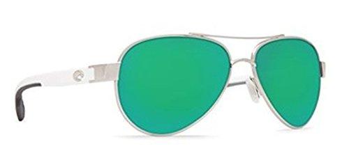 Costa del Mar Loreto Sunglasses Palladium w/White/Green Mirror ()