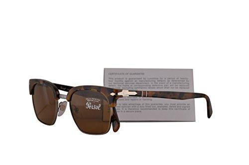 diseño tortuga color sol 3199S 53 PO SPO mm 107333 oscuro marrón de PO3199S Persol 3199 Gafas de SPO3199 4S7Avxwq