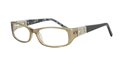 Womens Italy Patterned Prescription Glasses Frames Rxable in Brown - For Frames Women Online Glasses