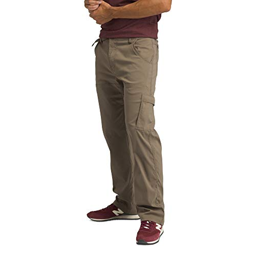 "prAna - Men's Stretch Zion Lightweight, Durable, Water Repellent Pants for Hiking and Everyday Wear, 32"" Inseam, Mud, 32"