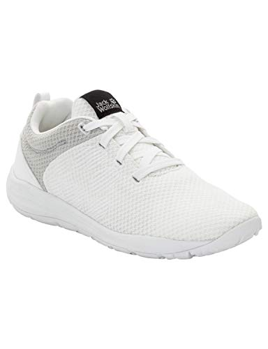 Jack Wolfskin Travel LITE Low Women's Casual Sneakers, White Rush, US 8 D US from Jack Wolfskin