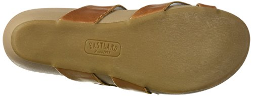 Women's Sandal Tan Slide Hampton Eastland 8dUtwvqq