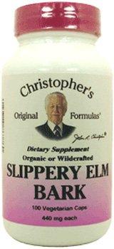 Dr. CHRISTOPHER'S, Single Herb Slippery Elm - 100 vegicaps