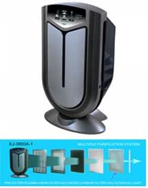 Surround Air XJ-3800 Intelli-Pro Air Purifier with Photocatalytic ...