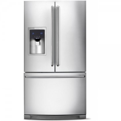 Electrolux EW23BC85KS Wave-Touch 22.6 Cu. Ft. Stainless Steel Counter Depth French Door Refrigerator - Energy Star