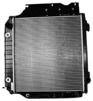 TYC 2102 Jeep Wrangler 1-Row Plastic Aluminum Replacement Radiator