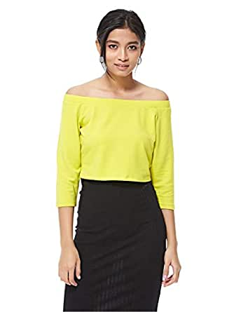 ICONIC Blouses For Women L, Yellow
