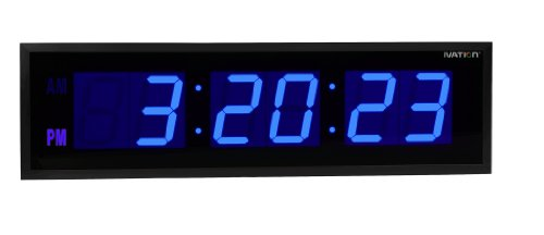 Wall Clock With Led Light - 7