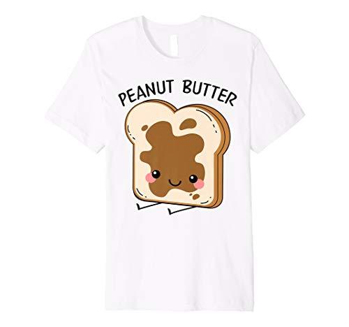 Peanut Butter Matching Halloween Costume Set DIY Jelly Shirt ()
