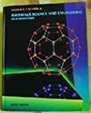 Materials Science and Engineering 9780471581284