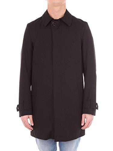 Aui42d060729000 Allegri Poliamida Hombre Coat Trench Negro wgzC5qg