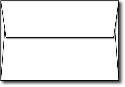 "White A1 (3 5/8"" x 5 1/8"") Square Flap Envelopes - 50 Envelopes - Desktop Publishing Supplies™ Brand Envelopes"