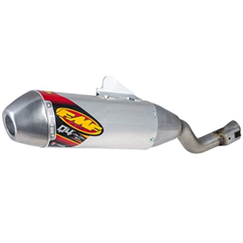 (FMF 17-19 Honda CRF250LR Q4 Hex Spark Arrestor Slip-On Exhaust)