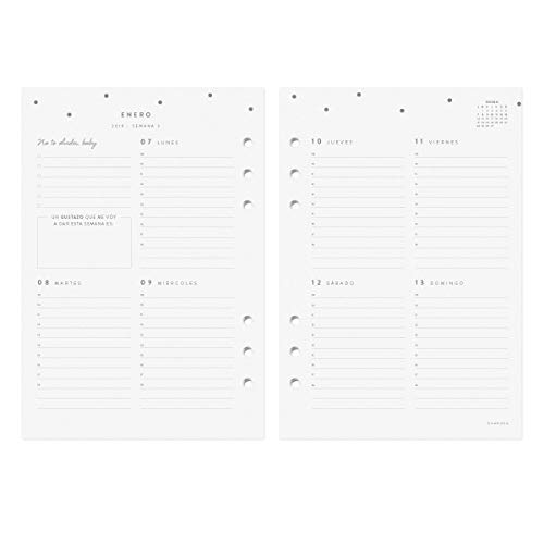 Amazon.com : 2019 Diary Refill A5 : Office Products