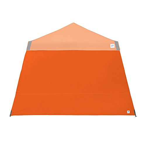 Recreational Canopy (E-Z UP Recreational Sidewall – Steel Orange - Fits Angle Leg 8' E-Z UP Instant Shelters)