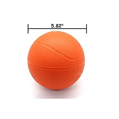 BTF Play Toddler Kids Replacement Net & Basketball 1 Pack (1 Ball, Orange): Toys & Games