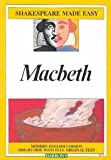 Macbeth (Shakespeare Made Easy) by William
